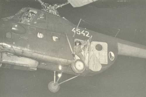 The 12th Helicopter Regiment flew night missions too