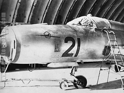 Soviet Air Force Turkestan Military District MiG-21PFM Fishbed-F 217th Fighter-Bomber Air Regiment Kzyl-Arvat airport