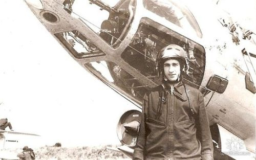 Soviet Air Force in Poland. 164th independent Guard Reconnaissance Air Regiment Yak-28R Brewer-D in Brzeg airfield
