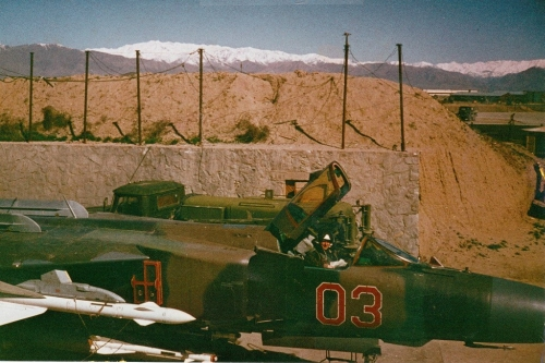 Soviet 168th Fighter Air Regiment's MiG-23MLD Flogger-K in Afganistan