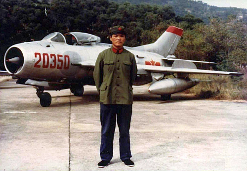 Chinese Beijing MR Air Force in the eighties