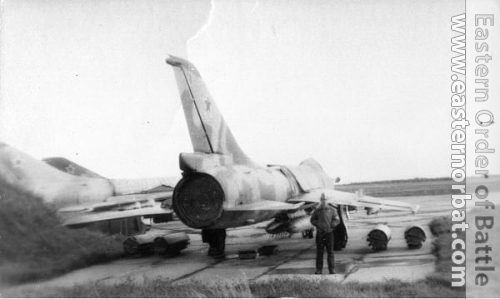 Soviet 305th Fighter-Bomber Air Regiment Su-7BKL Fitter-A at Postavy