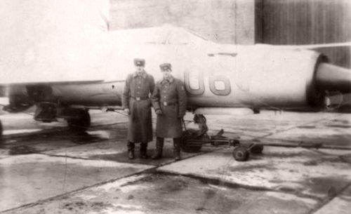 Soviet MiG-21SMT Fishbed-K in Poland, Chojna airport