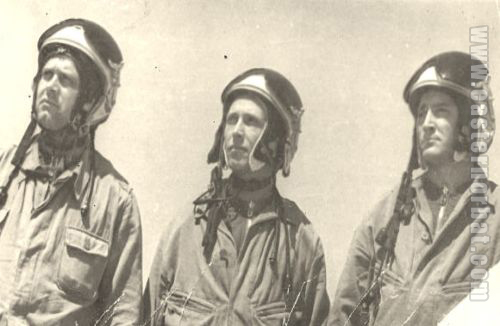 MiG-19 pilots of the 627th Guard Air Defense Fighter Regiment