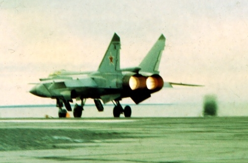 CCCP MiG-31 Foxhound at the Amderma airport