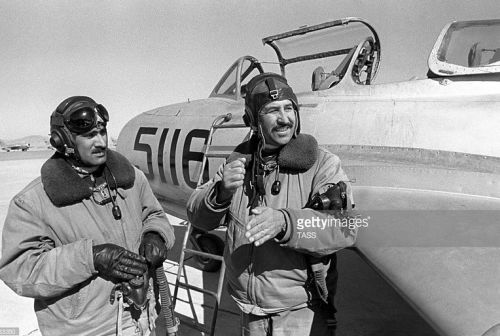 Afghanistan MiG-15UTI Midget Shindand Photo: gettyimages TASS