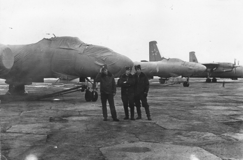 USSR IL-28 Beagle at Sennoy - Bagay-Baranovka airbase in the seventies