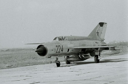 Bulgarian Air Force MiG-21R Fished-H Source: pan.bg Retrospotters