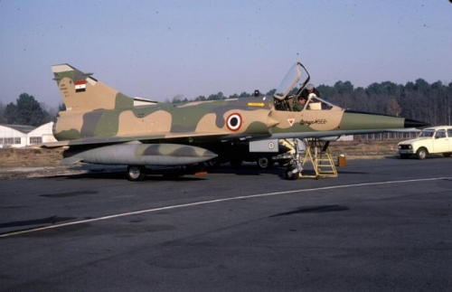 Egyptian Mirage 5E2 in France