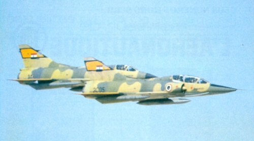 Egyptian Mirage 5SDD and SDR