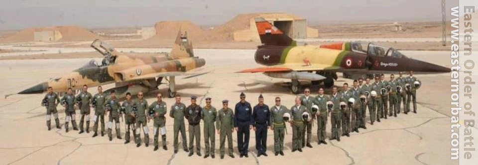 Egyptian Mirage 5SDD with Jordan