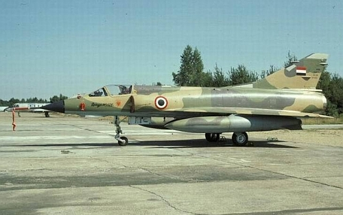 Egyptian Mirage 5SDE early