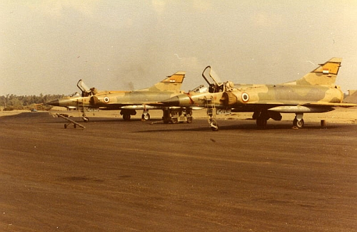 Egyptian Mirage 5SDE in 1982