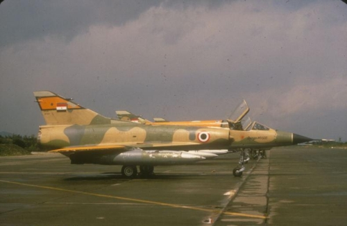 Egyptian Mirage 5SDE in 1984