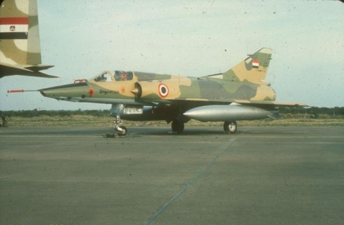 Egyptian Mirage 5SDR early