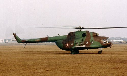 Hungarian Mi-17 Hip-H cargo helicopter in Warsaw Pact, Photo: Simon László