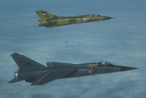 The1000th Mirage III aircraft